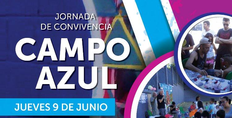 Jornada de convivencia en el Campo Azul