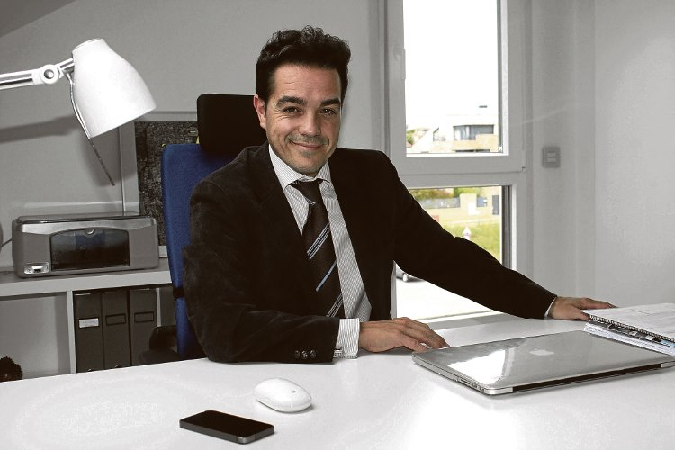 Javier Robles, fundador de Abantec Gestión S.L.