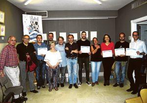 Entrega de premios a los finalistas de la Comunidad de Madrid.