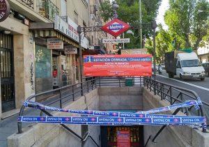 Cierre Línea 1 de metro