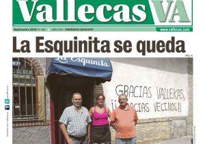 Portada Vallecas septiembre de 2016