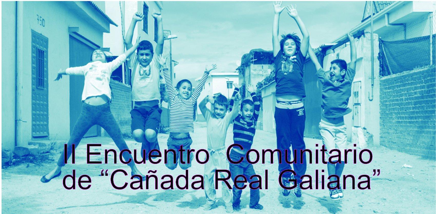 Encuentro comunitario en la Cañada Real Galiana