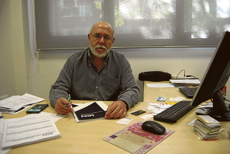 José Rico, en su despacho.