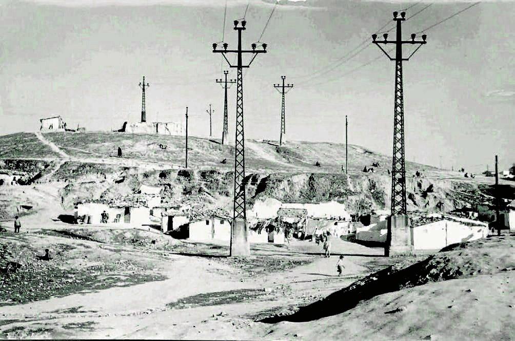 Cerro del Tío Pío, 1958.