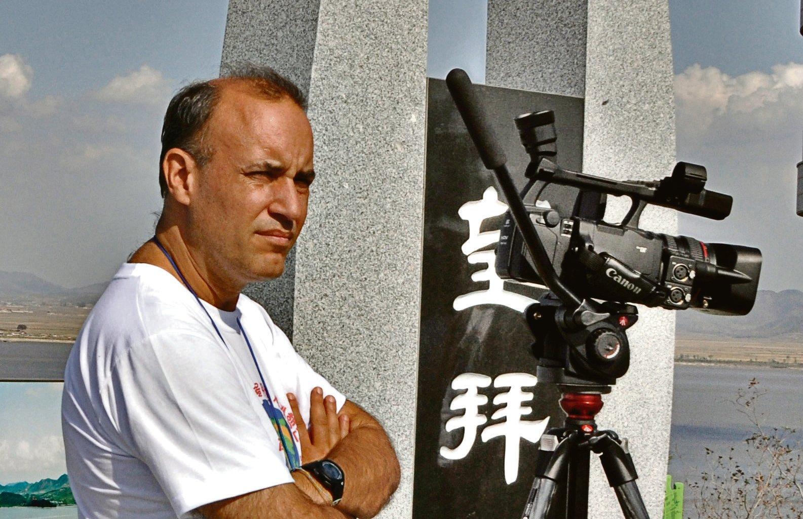 El realizador audiovisual Álvaro Orús.