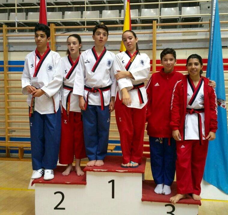 Club Azofra en el Open de Taekwondo Embajador de Corea