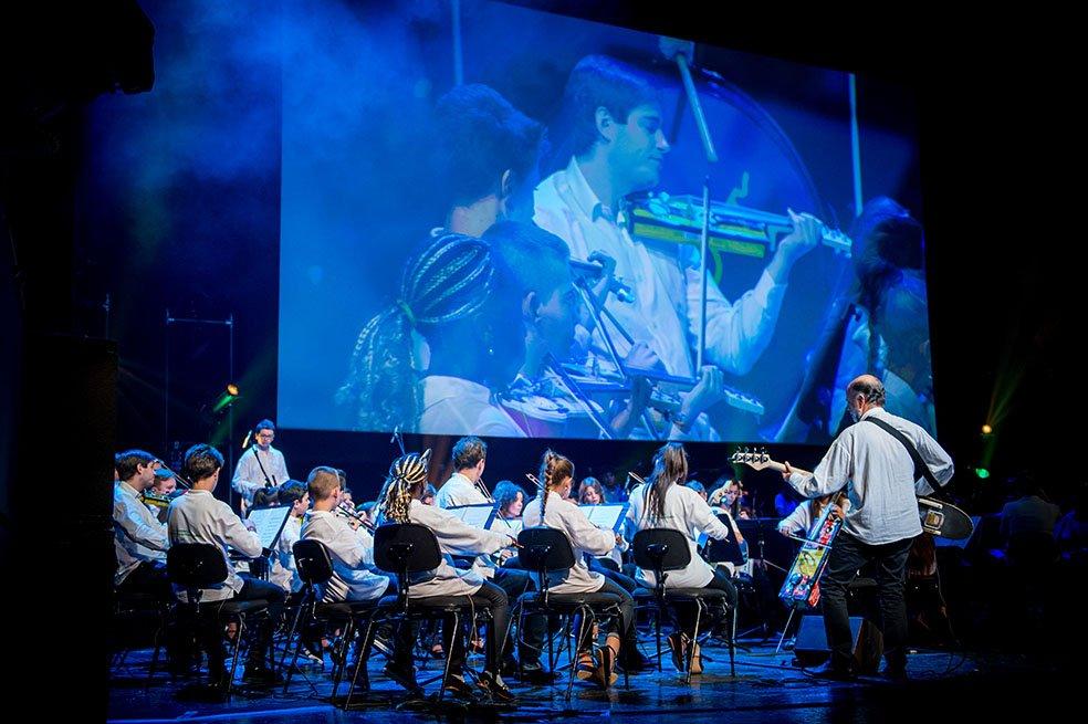 La orquesta tocó en el Teatro Real el pasado 4 de enero.