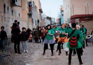 Carnaval en la Cañada Real