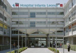 e Entrada al Hospital Infanta leonor.