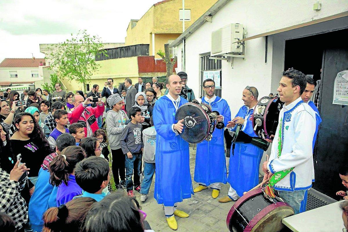 """La parroquia interviene """"como uno más"""" en la Cañada."""