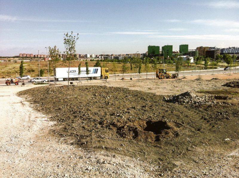Las obras corresponden a una primera etapa de las dos programadas por el área de Medio Ambiente y Movilidad para la culminación del parque.