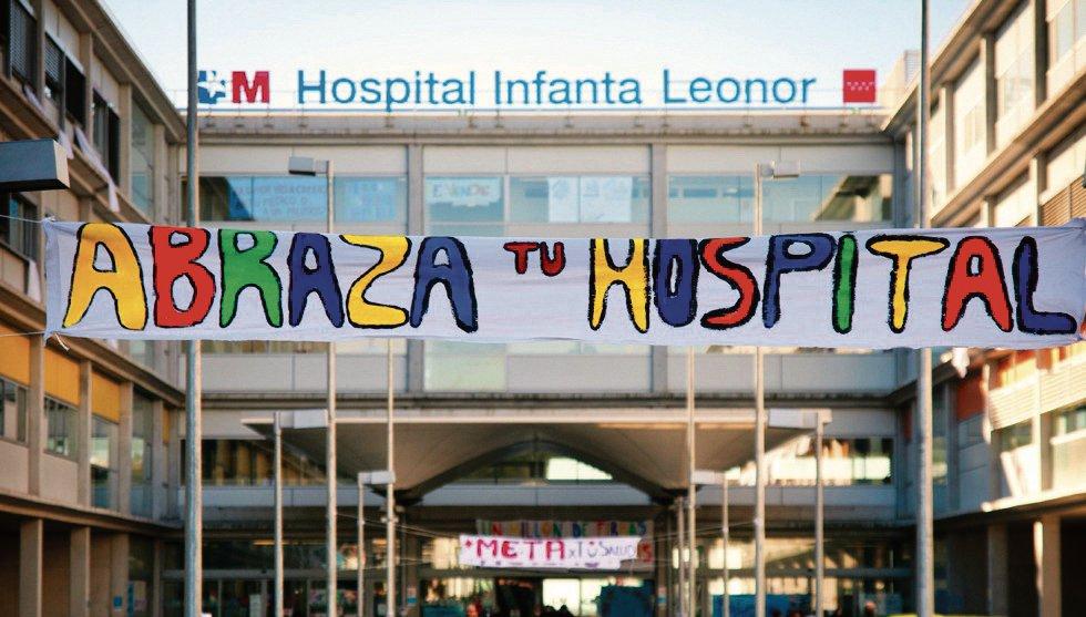 Abraza tu Hospital Infanta Leonor