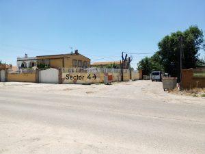 Arquitectura Sin Fronteras, junto a los vecinos y con la colaboración y financiación de la junta de Vicálvaro, ha señalizado los cruces de los sectores 3 y 4.