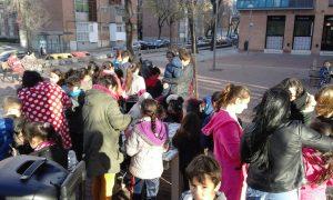 La presentación fue una actividad lúdica orientada a la infancia y la juventud.