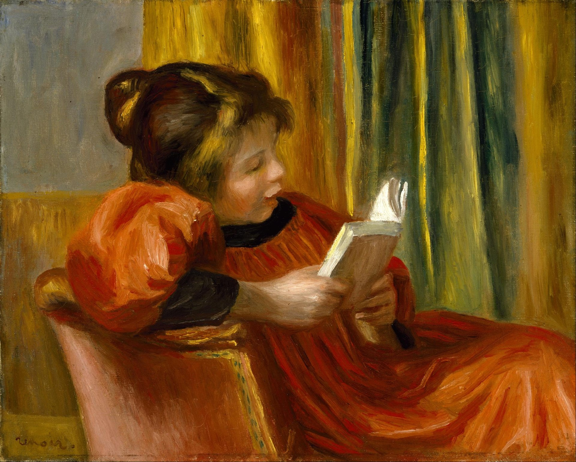 """La lecture"", de Pierre-Auguste Renoir."