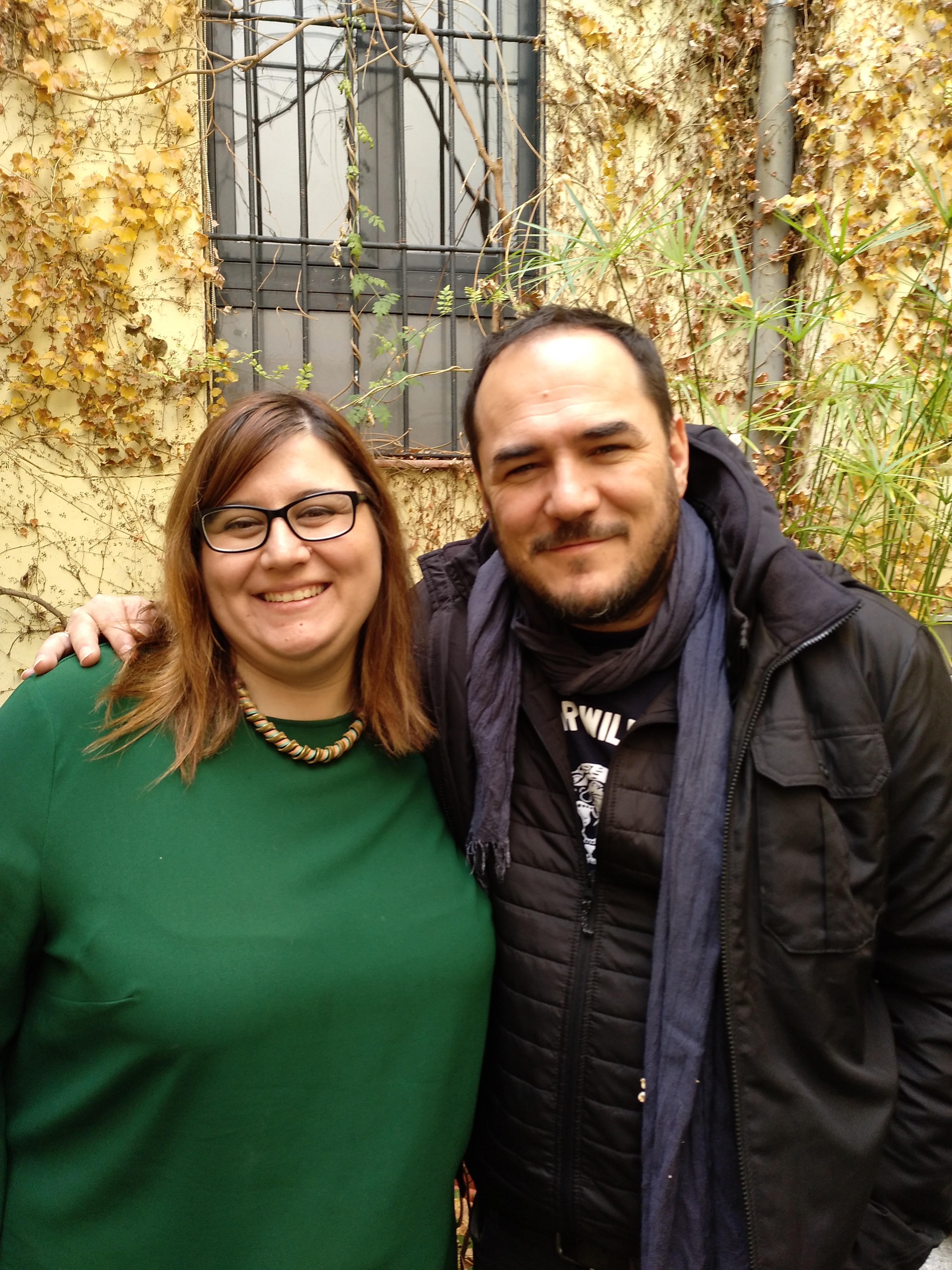 Marina Marroquí e Ismael Serrano