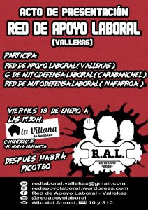Red de Apoyo Laboral de Vallecas